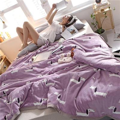 300克法莱绒毛毯  珊瑚绒小毛毯子 120cmX200cm 惹人喜爱