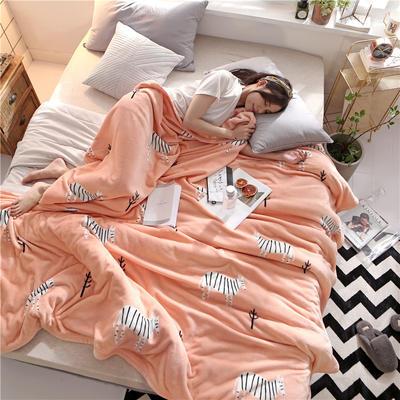 300克法莱绒毛毯  珊瑚绒小毛毯子 150cmx200cm 天真烂漫