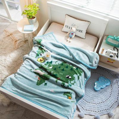 婴儿毯 童毯 105*135cm(实重2.2斤) 旅行日记