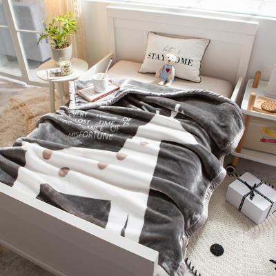 婴儿毯 童毯 105*135cm(实重2.2斤) 改变命运