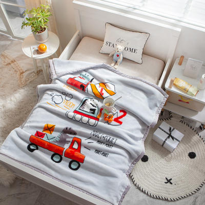 婴儿毯 童毯 105*135cm(实重2.2斤) 动画卡通