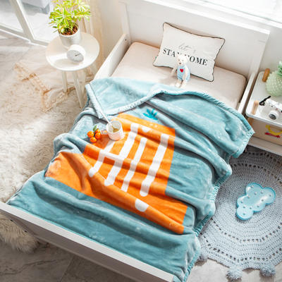 婴儿毯 童毯 105*135cm(实重2.2斤) hi
