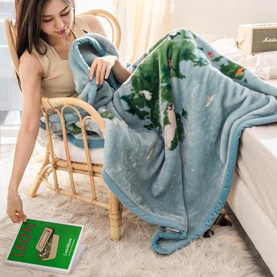 云毯 午睡毯 毛毯子 105*135cm(实重2.2斤) 旅行日记