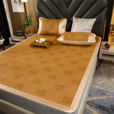 柠栀家纺   2021年新款藤席 凉席 席子  建议用副标题里面的百度网盘下载图片 1.0m(3.3英尺)床 变幻灵动