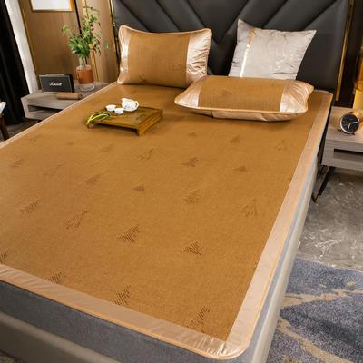 柠栀家纺   2021年新款藤席 凉席 席子  建议用副标题里面的百度网盘下载图片 1.0m(3.3英尺)床 生意盎然