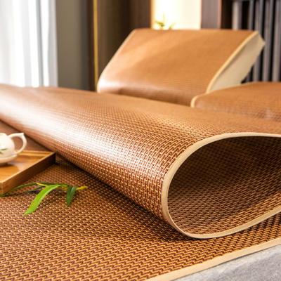 柠栀家纺 拼多多款藤席 凉席 席子三件套二件套枕片款式   提取码:vnwq 1.0m(3.3英尺)床 步步高