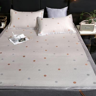 600D冰丝席 凉席 亏本清库存 1.2m(4英尺)床 点点