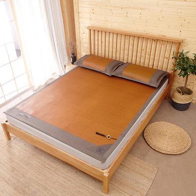 2019新款印尼藤凉席养生席空调席 1.2m(4英尺)床 太妃咖