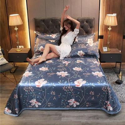 2020新款冰丝凉席床单款三件套 1.8/2.0床250*250cm三件套 暗香