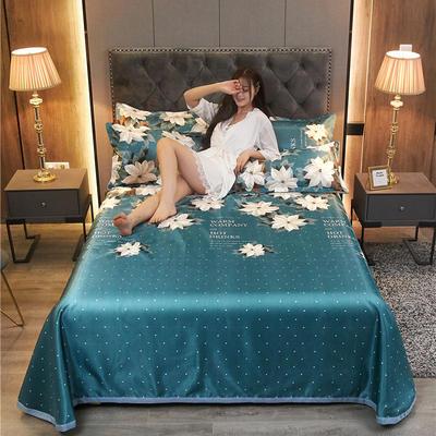 2020新款冰丝凉席床单款三件套 1.8/2.0床250*250cm三件套 芳华