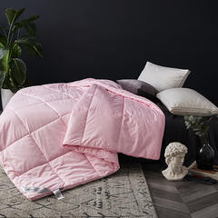 2018新款暖寐澳大利亚羊毛被 200*230cm 粉色1