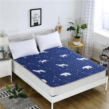 2019新款 全棉榻榻米床垫床褥 四季床护垫可机洗薄垫