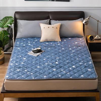 2020新品 親膚磨毛床墊可機洗床褥子特價床護墊席夢思保護墊 0.9*2.0m 北斗星
