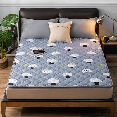 2020新品 亲肤磨毛床垫可机洗床褥子特价床护垫席梦思保护垫 0.9*2.0m 小蘑菇