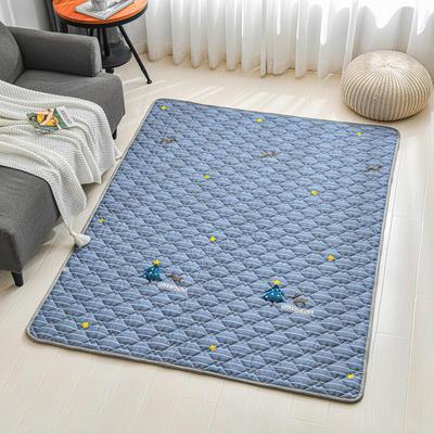 全棉防滑爬爬垫 宝宝爬行垫 加厚地垫客厅地毯可机洗 90*200cm 麦琪