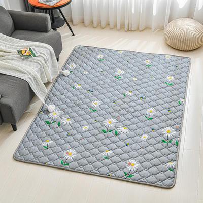全棉防滑爬爬垫 宝宝爬行垫 加厚地垫客厅地毯可机洗 90*200cm 蜜糖布丁