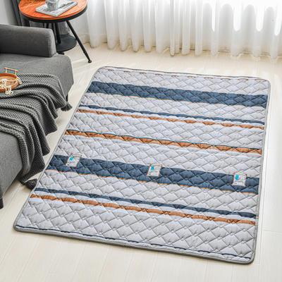 全棉防滑爬爬垫 宝宝爬行垫 加厚地垫客厅地毯可机洗 90*200cm 摩根