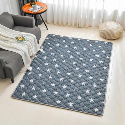 全棉防滑爬爬垫 宝宝爬行垫 加厚地垫客厅地毯可机洗 90*200cm 星空漫步