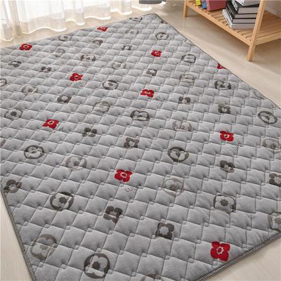 2020新款毛巾绒防滑保暖地垫床褥-毛巾绒爬行垫爬爬垫 1.2*2.0m 锦素