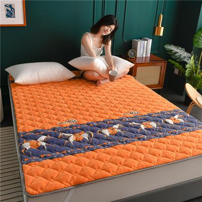 2020新款毛巾绒防滑保暖垫床褥-毛巾绒床垫 1.2*2.0m 马普仕