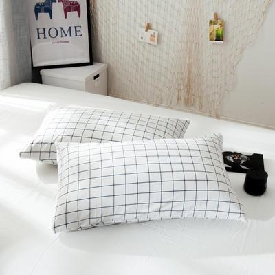 新品-水洗棉AB版单枕套 48cmX74cm 晚秋