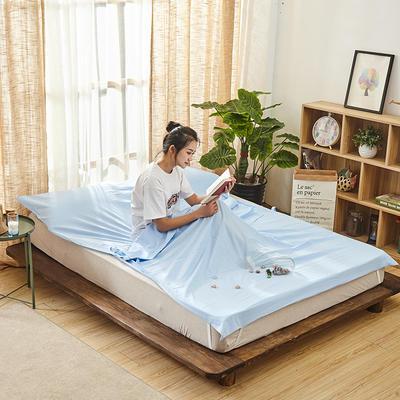 新品-隔脏睡袋 蓝色120*210cm