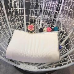 邓禄普全棉水洗棉乳胶枕(40*60) 水洗棉-白