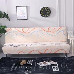 万能全包弹力通用沙发床专用套 冰芬(160*190cm)