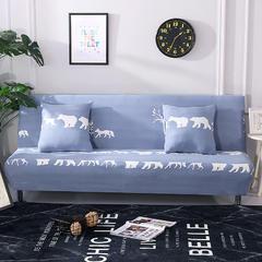 万能全包弹力通用沙发床专用套 欢乐小鹿(160*190cm)