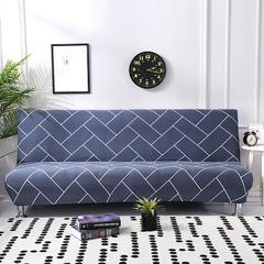 万能全包弹力通用沙发床专用套 时尚线条(160*190cm)