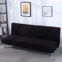 2018新款兴妮雅沙发床套 单人(规格90-140CM) 玉米粒 黑色