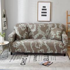2018新款小清新风格系列沙发套 沙发套单人(规格90-140CM) 艺术卡其