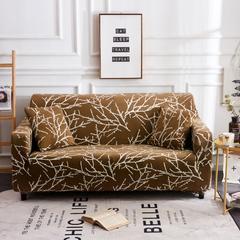 2018新款沙发套 单人(规格90-140CM) 梅花三弄