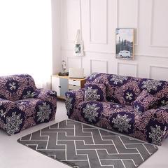 2018新款组合沙发套沙发床套 单人(规格90-140CM) 暗香
