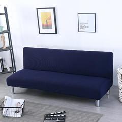 2019新款-沙发床套玉米粒系列 小号110-140m 玉米粒 藏蓝