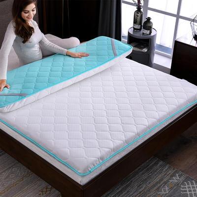 2018新品针织透气双面床垫 90*200 9cm绿色