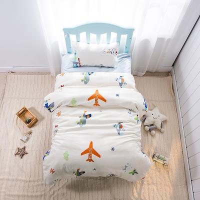 2019新款经典款儿童三件套-小飞机 单枕套30*50cm 小飞机