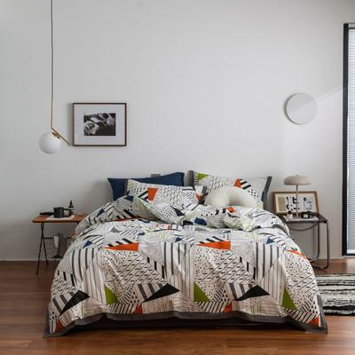 2021新款家居北欧工艺款四件套 1.8m床单款四件套 阿基里德