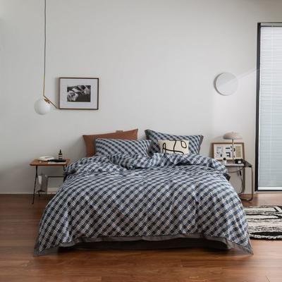 2021新款家居北欧工艺款四件套 1.8m床单款四件套 芬格