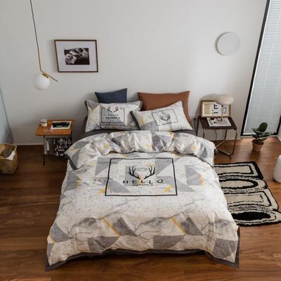 2021新款家居北欧工艺款四件套 1.2m床单款三件套 西雅图