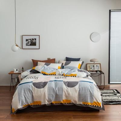2021新款家居北欧工艺款四件套 1.8m床单款四件套 星耀
