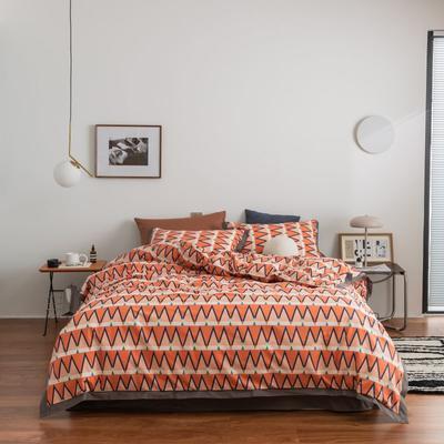 2021新款家居北欧工艺款四件套 1.8m床单款四件套 依琳