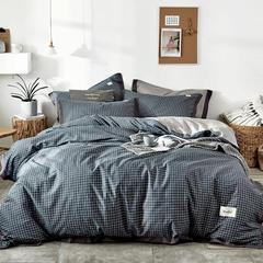 2018新品全棉色布拼角四件套 1.2m(4英尺)床三件套 米兰