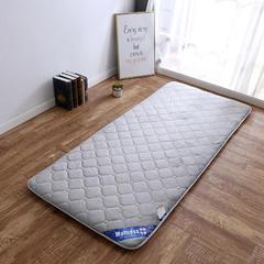 2018新款-法莱绒绗绣加厚床垫(小款) 0.9*2m 灰
