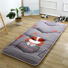 2018新款-加厚磨毛床垫(小床垫) 0.9MX2.0M 可爱狗
