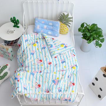 2018新款-全棉纱布棉花被芯 1.2*1.5m2斤 小猪佩奇