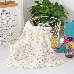2018新款-六层纱布浴巾  105*110cm 小仓鼠