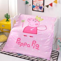 2018新款-13372幼儿园三件套 羽丝床垫 公主佩奇