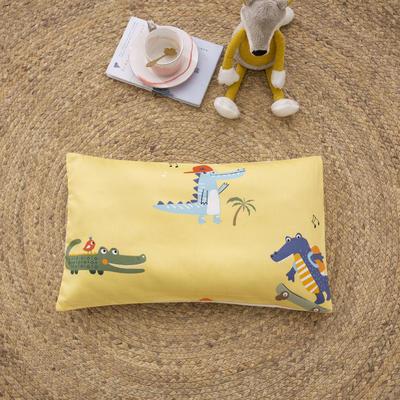 2020新款60贡缎儿童单枕套+枕芯 30*50cm单枕套 小恐龙