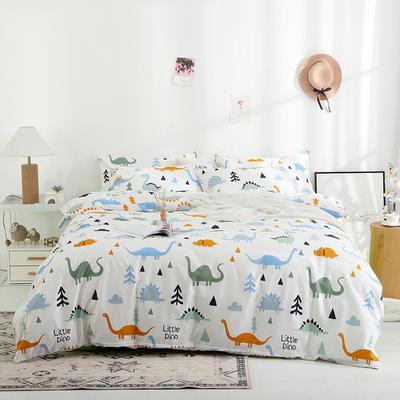 2019新款13372全棉四件套(升级设计A版) 1.2m床(床单款) 童话城堡